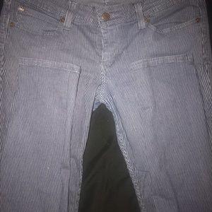 Levi's Jeans - Levi's denim curve striped jeans